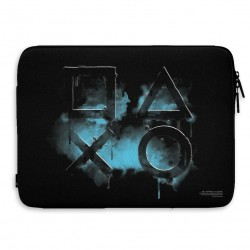PLAYSTATION - Laptop Sleeve 15 Inch - Smoked Icons