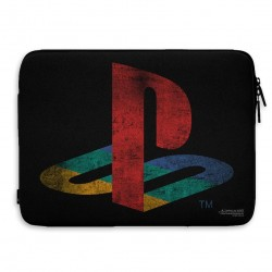 PLAYSTATION - Laptop Sleeve 15 Inch - Distressed Logo 1994