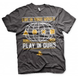 PLAYSTATION - T-Shirt Your World (M) 149747  Playstation