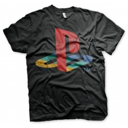 PLAYSTATION - T-Shirt Distressed Logo (L)