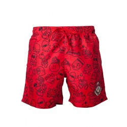 NINTENDO - Red Mario Swimshort (XL) 149376  Alles