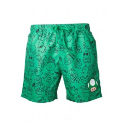 NINTENDO - Green Mushroom Swimshort (XL) 149372  Korte Broek - Short