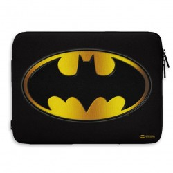 DC COMICS - Laptop Sleeve 13 Inch - Batman Gold Logo