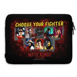 MORTAL KOMBAT - Laptop Sleeve 15 Inch - Choose Your Fighter