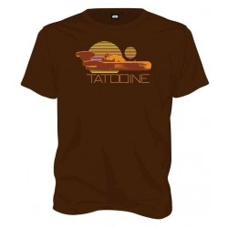 STAR WARS - T-Shirt Tatooine - Brown (M) 149197  T-Shirts