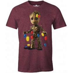 CHRISTMAS - T-Shirt Groot with Light (XL) 169734  T-Shirts Kerstmis