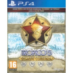 Tropico 5 - Complete Edition (Box UK - Game MULTI) 149076  Playstation 4