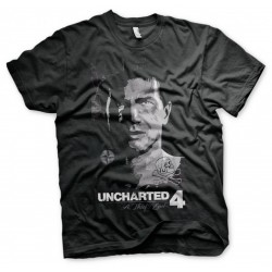 UNCHARTED 4 - T-Shirt Pirate - Black (XL)