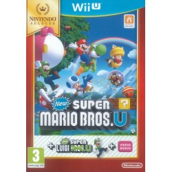 New Super Mario Bros U + Luigi U (SELECT) 148899  Nintendo Wii U