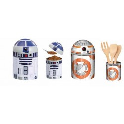 STAR WARS - Droids Kitchen Storage BB-8 / R2-D2 (Twinpack) 148705  Keuken Opberg Boxen