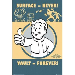 FALLOUT - Poster 61X91 - Vault Poster 148509  Posters