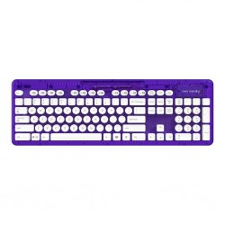 PDP - ROCK CANDY Wireless Keyboard Azerty Purple 148423  PC Games