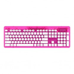 PDP - ROCK CANDY Wireless Keyboard Azerty Pink 148422  PC Games