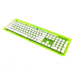 PDP - ROCK CANDY Wireless Keyboard Azerty Green 148421  PC Games