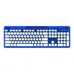 PDP - ROCK CANDY Wireless Keyboard Azerty Blue 148420  PC Games