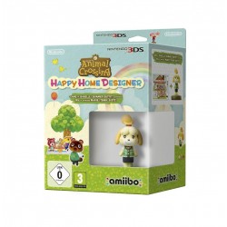 Animal Crossing Happy Home + Amiibo Isabelle 148406  Nintendo 3DS