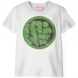 MARVEL - T-Shirt Kids - Hulk Punch Logo (12 Years)
