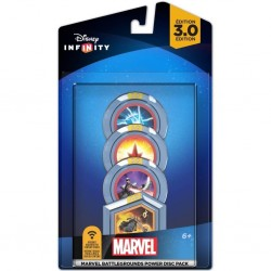 DISNEY INFINITY 3 - 4 Power Discs Pack - Marvel 148170  Games Divers