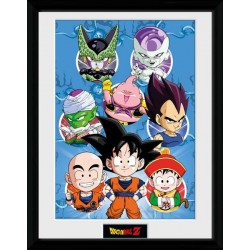 DRAGON BALL Z - Collector Print 30X40 - Chibi Characters 148093  Posters
