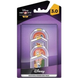 DISNEY INFINITY 3 - 4 Power Discs Pack - Disney Zootopia 148015  Games Divers