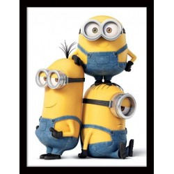 MINIONS - Collector Print HQ 32X42 - 3 Characters 147835  Posters