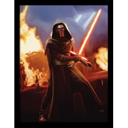 STAR WARS 7 - Collector Print HQ 32X42 - Ren Fire 147804  Posters