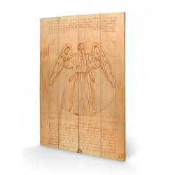 DOCTOR WHO - Houten wandbord 40X59 - Weeping Angel