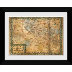 THE HOBBIT - Collector Print 30X40 - Map 147702  Posters