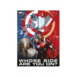 MARVEL CIVIL WAR - GLASS POSTER - Whose Side Are You - 30X40 Cm 147578  Posters
