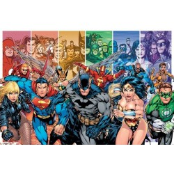 JUSTICE LEAGUE - Poster 61X91 - America Generations 147387  Posters