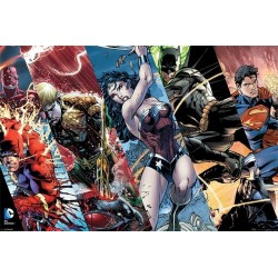 JUSTICE LEAGUE - Poster 61X91 - Heroes 147375  Posters