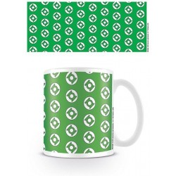 DC ORIGINALS - Beker - 300 ml - Green Lantern Logo Pattern