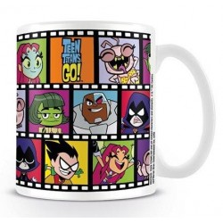 TEEN TITANS GO - Mug - 300 ml - Film Strips 147294  Drinkbekers - Mugs