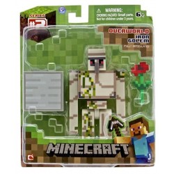 MINECRAFT - Figurine - Iron Golem with Accessory - Serie 2 147243  Figurines