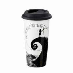 NIGHTMARE BEFORE CHRISTMAS : Travel Mug 400ml - Time to Share 171491  Harry Potter Bekers