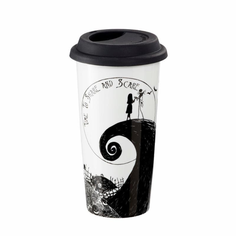 NIGHTMARE BEFORE CHRISTMAS : Koffiebeker to go 400ml - Time to Share