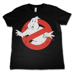 GHOSTBUSTER - T-Shirt KIDS Logo Distressed (12 Years) 147062  T-Shirts Kinderen