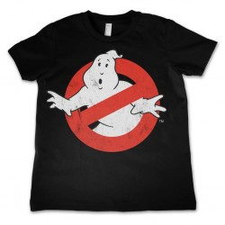 GHOSTBUSTER - T-Shirt KIDS Logo Distressed (10 Years) 147061  T-Shirts Kinderen