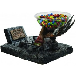 HORROR - Figure Candy Bowl Holder - FREDDY HAND 169576  Snoep Houder - Candy Bowl