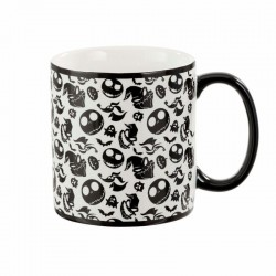 NIGHTMARE BEFORE CHRISTMAS : Oogie Jack and Zero 560ml Mug 171490  Drinkbekers - Mugs