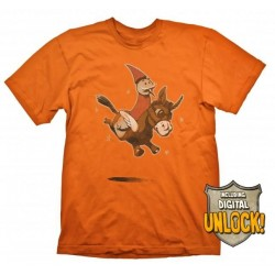 DOTA 2 - T-Shirt Wizard and Donkey + Ingame Code (M) 146965  Alles