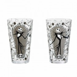 NIGHTMARE BEFORE CHRISTMAS : Jack Pattern Water Metal Bottle 171489  Drinkbekers - Mugs