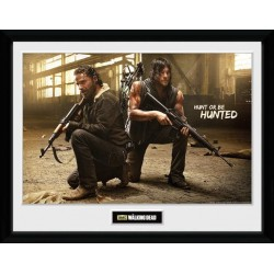 THE WALKING DEAD - Collector Print 30X40 - Rick and Daryl Hunt 146809  Posters