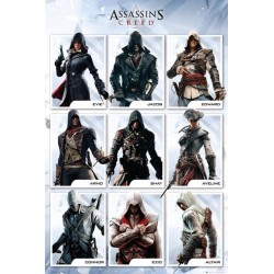 ASSASSIN'S CREED - Poster 61X91 - Compilation 146796  Posters