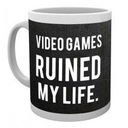 GAMING - Mug - 300 ml - Ruined My Life 146783  Bekers en Glazen