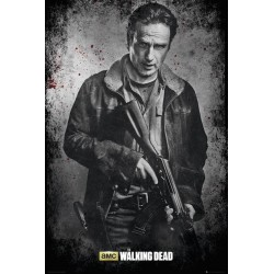 WALKING DEAD - Poster 61X91 - Rick Black and White 146771  Posters