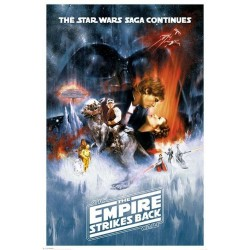 STAR WARS - Poster 61X91 - The Empire Strikes Back 146750  Allerlei