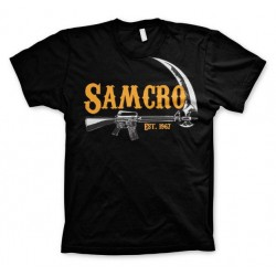 SONS OF ANARCHY - T-Shirt Samcro Est. 1967 - Black (S) 146541  T-Shirts Sons Of Anarchy