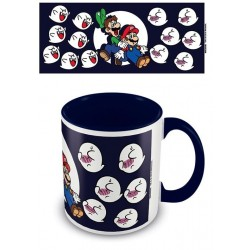 NINTENDO - Coloured Inner Mug - Super Mario Boss Blue 169538  Drinkbekers - Mugs