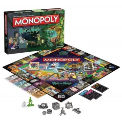 MONOPOLY - Rick & Morty (FR) 169530  Gadgets